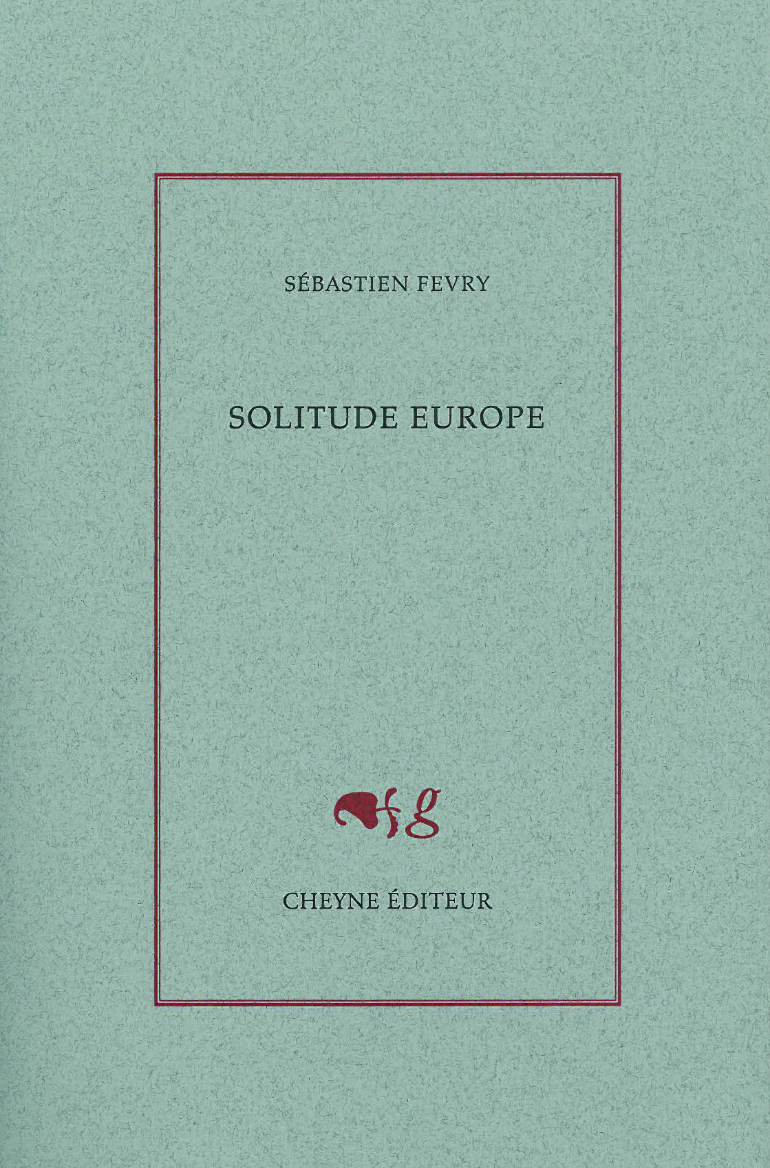 Couverture Solitude Europe