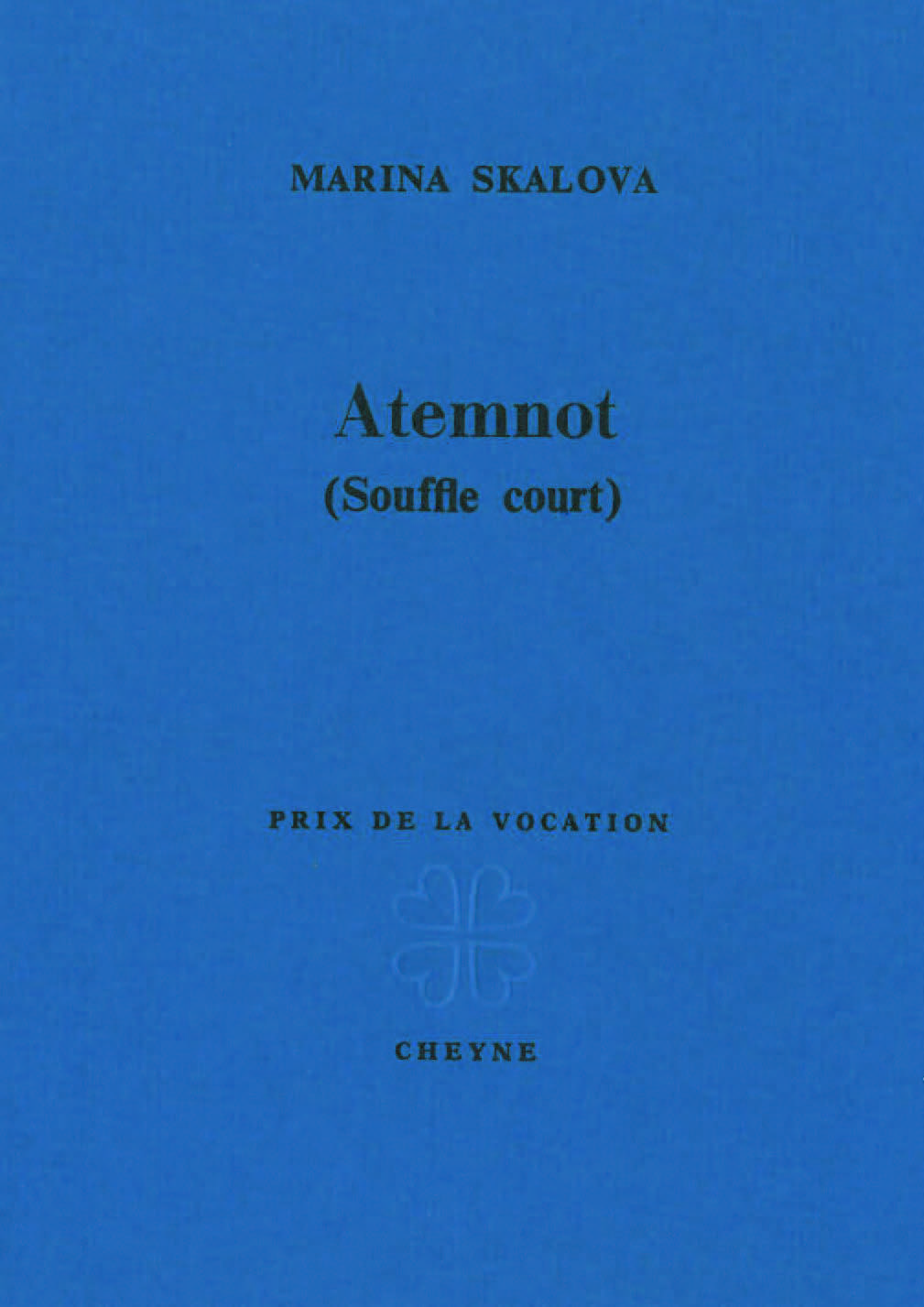 Couverture Atemnot
